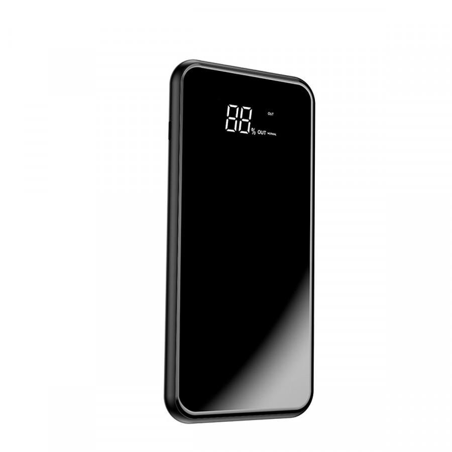 Sạc không dây siêu mỏng siêu đẹp thông minh chuẩn Qi kiêm pin dự phòng 8000 mAh Baseus - cho Iphone 8, iphone X,Samsung Galaxy S9, Note8 - Hàng chính hãng