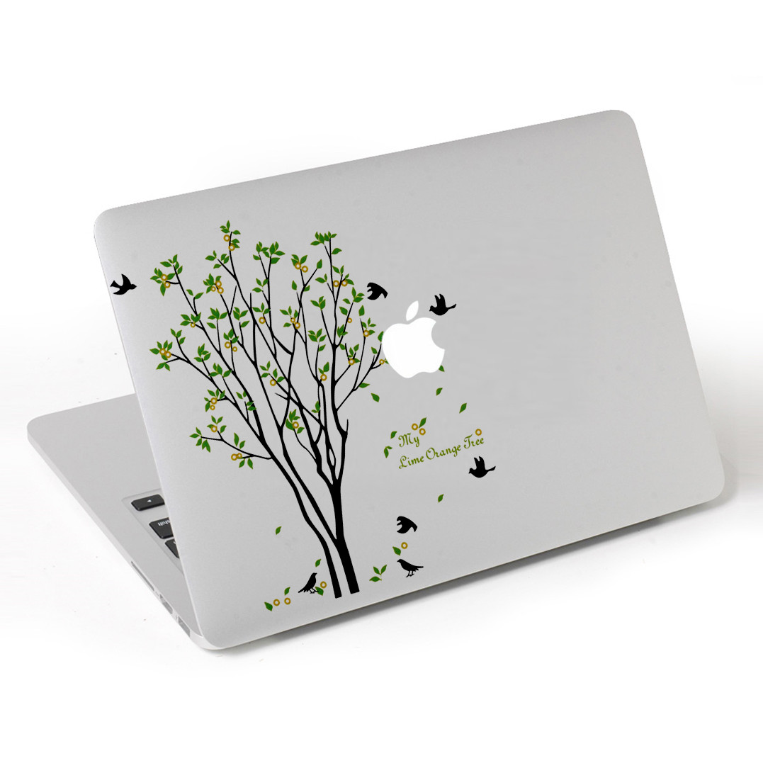 Miếng Dán Trang Trí Laptop Macbook Mac - 143