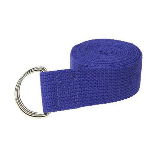 Dây đai tập yoga sợi cotton LK25 Xanh Dương