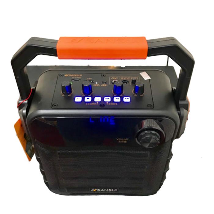 Loa xách tay karaoke bluetooth Sansui SS7-05 - Hàng nhập khẩu