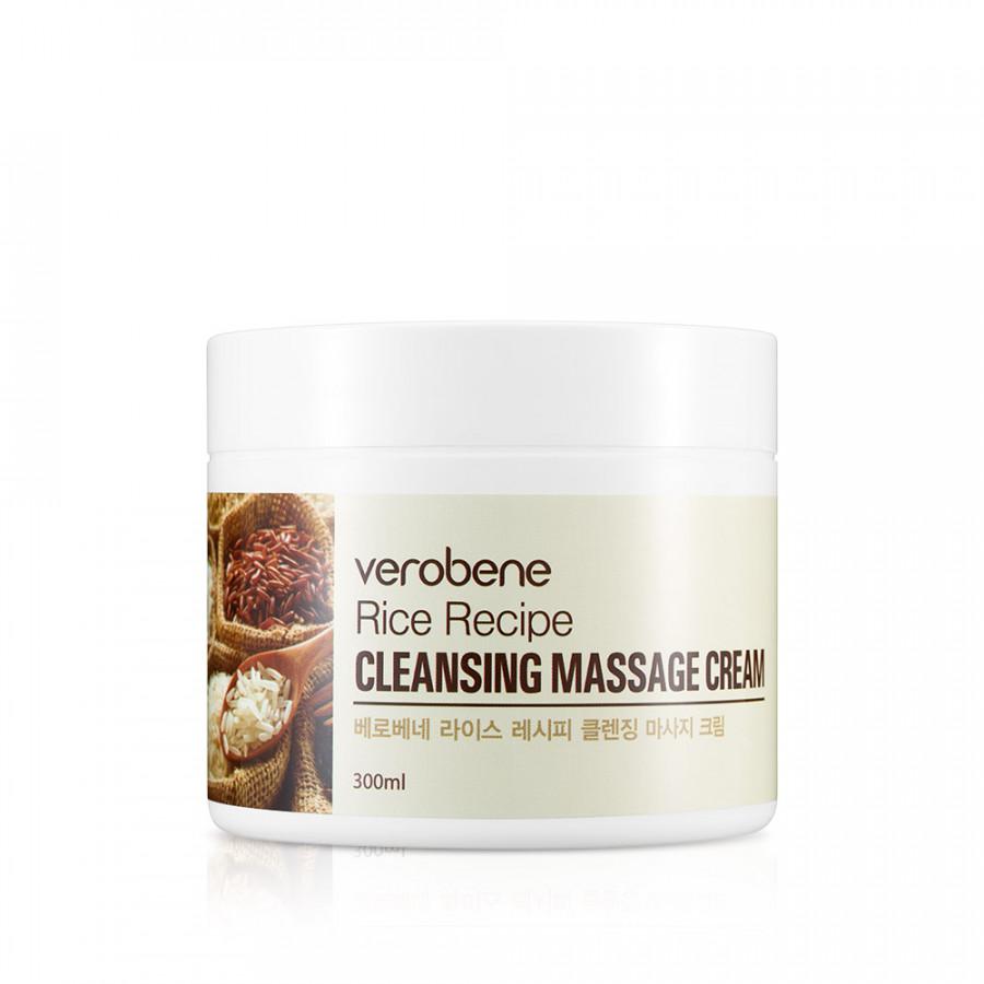 Kem Tẩy Trang Massage Verobene Rice Recipe Cleansing Massage Cream