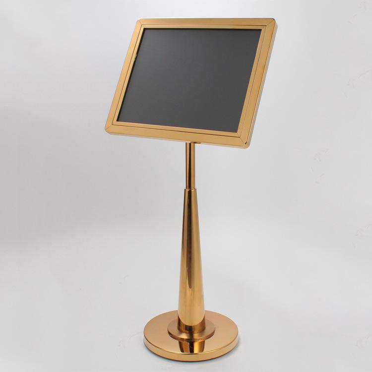 Bảng biển chỉ dẫn thông tin inox, Mã P-23, Thương hiệu Chinasouth, Dùng cho khách sạn nhà hàng