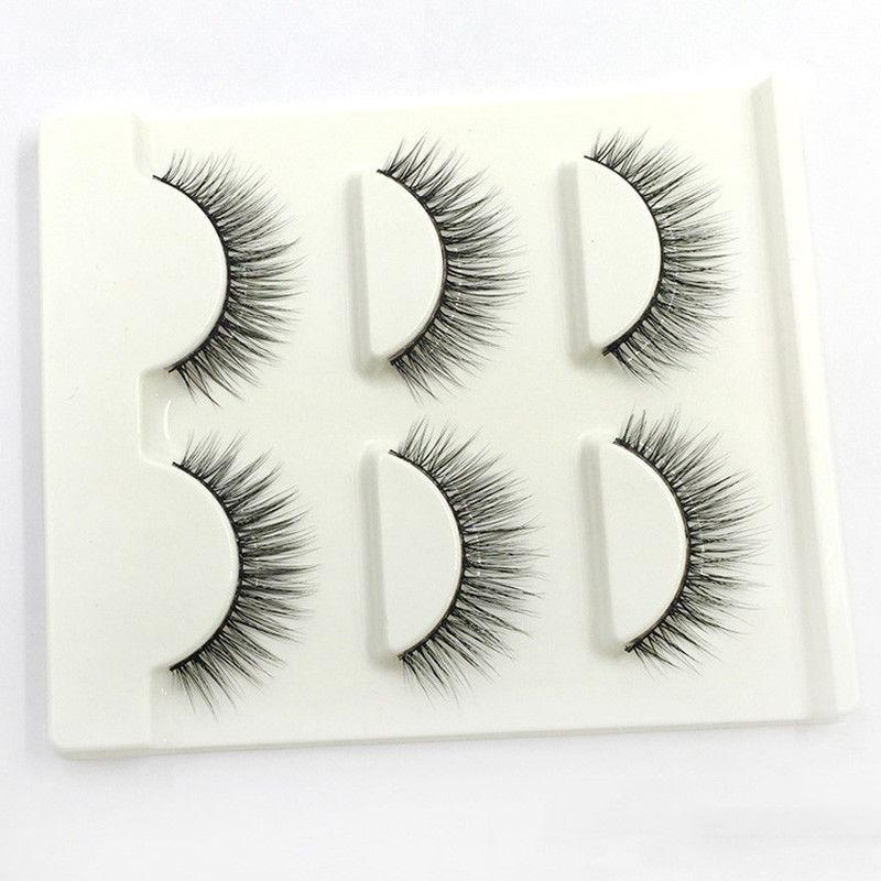 Mi Giả Lông Chồn 3D 3PCS 3 Fashion Eyelashes 3 Faux-Cils 3D/07 (3 cặp)