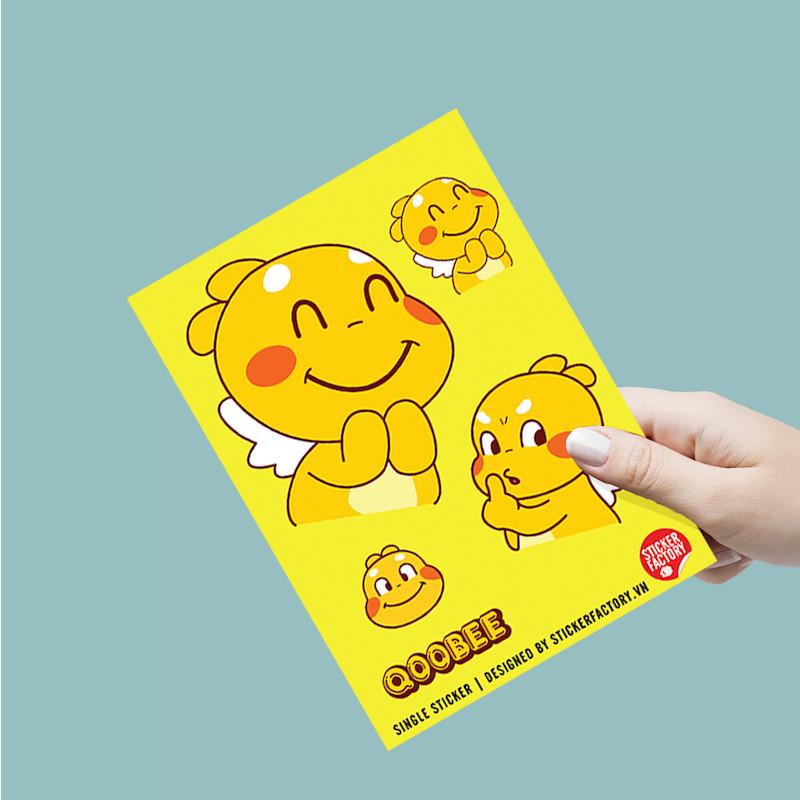 Qoobee - Single Sticker hình dán lẻ