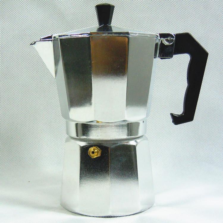 Ấm pha cà phê Moka 6 cup dung tích 300ml pha cà phê kiểu Ý cực ngon