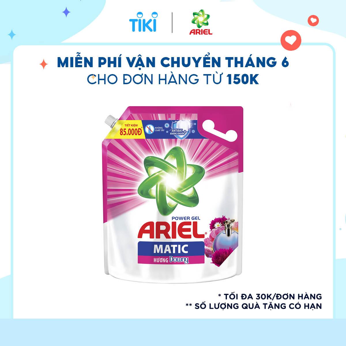 Hình ảnh Nước Giặt Ariel Hương Downy Túi 3.2Kg