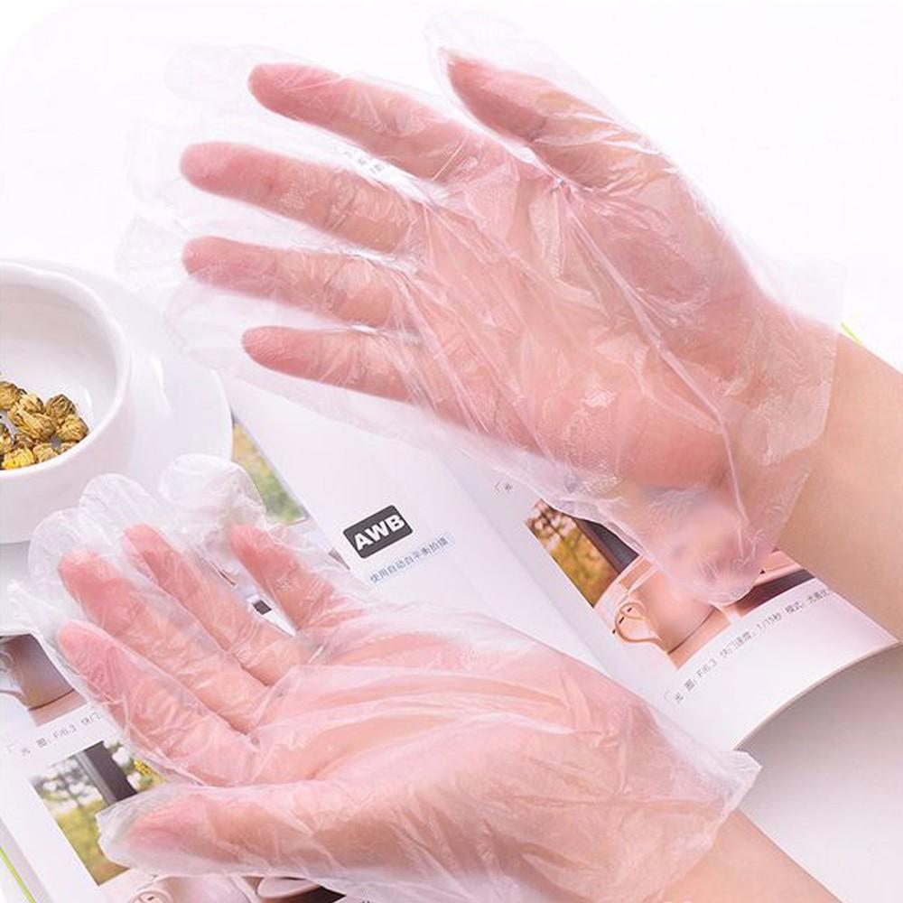 1000g Bao Tay (Găng tay) Nilon (Xốp), Loại Dùng 1 Lần - Chuyên Dụng Để Nấu Ăn, Nhuộm Màu