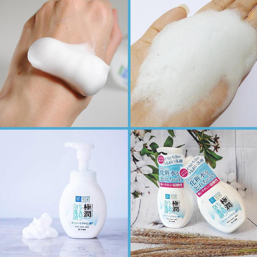 Bọt rửa mặt dưỡng ẩm Hadalabo - 160ml