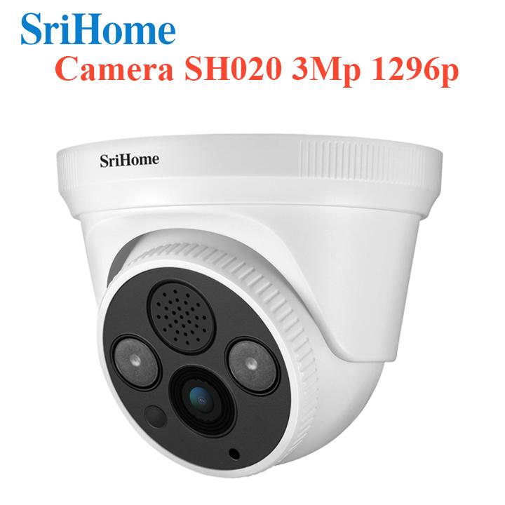 Camera IP Srihome SH030 3.0Mpx - Xem nhiều khung hình trên điên thoại - Hàng chính hãng