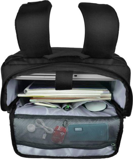 Balo laptop 15.6 inch Mikkor Kalino Backpack Black
