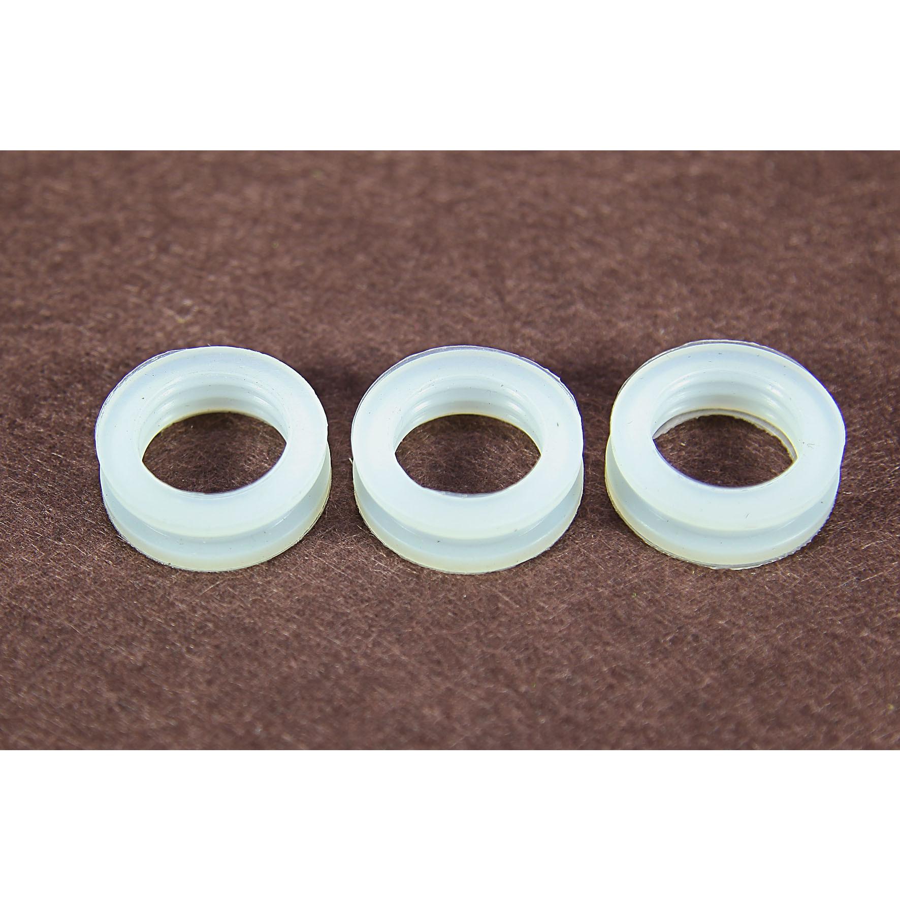 Bộ 3 Gioăng (ron) silicon chịu nhiệt, roong cao su chắn bụi, cao su chịu lực phi 27 dùng trong máy nước nóng NLMT