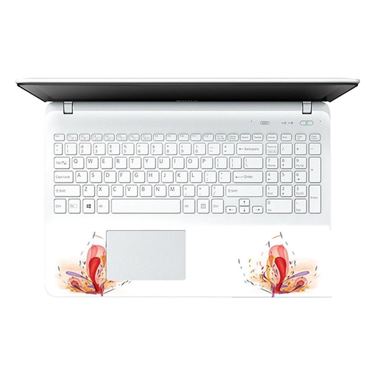 Mẫu Dán Decal Hoa Văn Cho Laptop LTHV 110 cỡ 13 inch