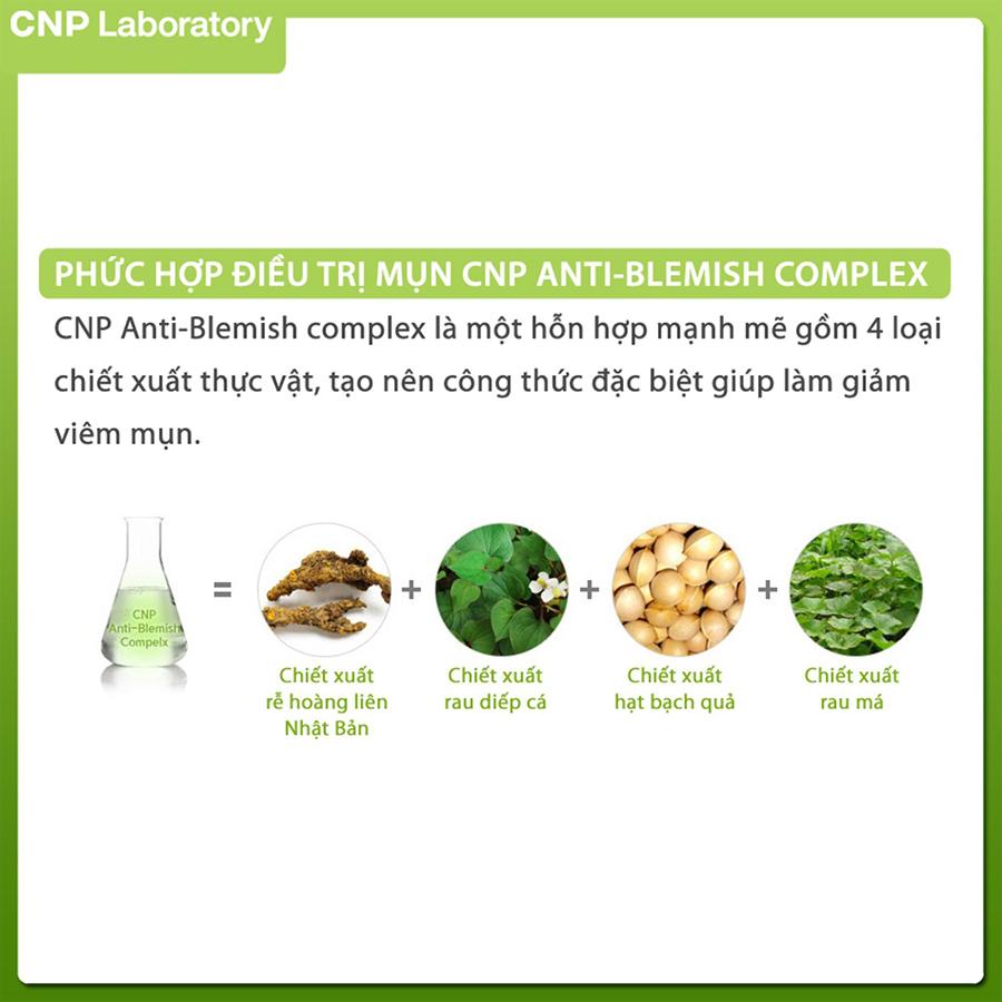 Gel ngừa mụn giảm kích ứng CNP Laboratory Anti-Blemish Spot Solution 3.5ml