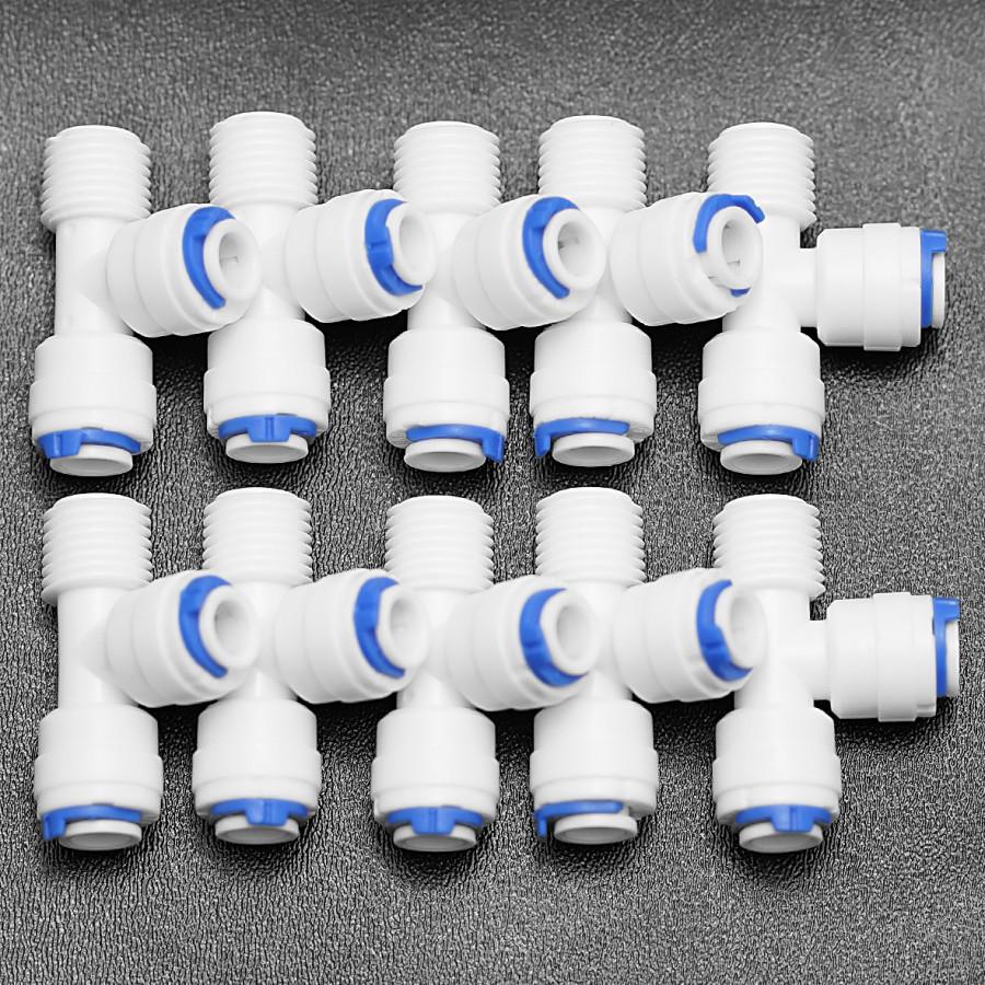 Combo 10 tê lệch nối nhanh ren 13 ra 02 dây 6 – 7544-Q004A - Hàng chính hãng
