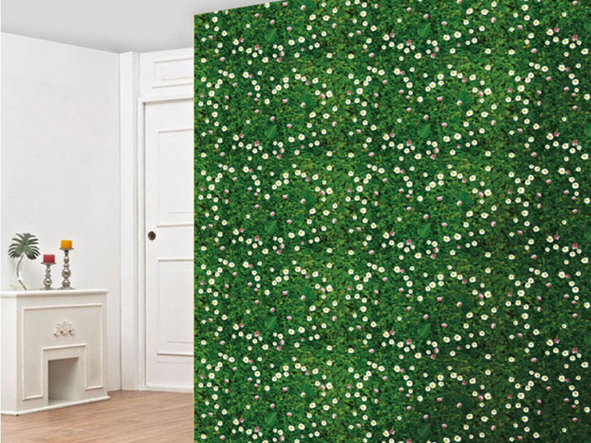 decal dán tường thảm cỏ hoa sk9175