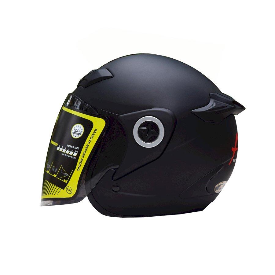 Mũ Bảo Hiểm Asia MT168 (Size L) - Đen