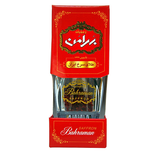 Nhụy hoa nghệ tây Iran Saffron Bahraman GEM Super Negin 1gr
