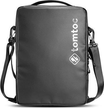 TÚI ĐEO CHÉO TOMTOC H14 (USA) URBAN CODURA SHOULDER BAGS FOR MACBOOK, LAPTOP, TABLET... 15.4″ BLACK - HÀNG CHÍNH HÃNG