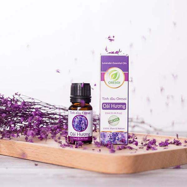 Combo 2 lọ tinh dầu oải hương hữu cơ 100% nguyên chất - Lavender Essential Oil