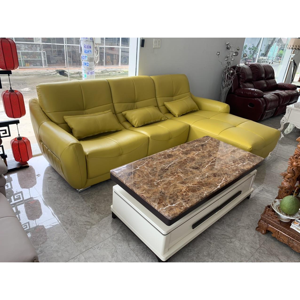 Sofa da cao cấp nhập khẩu MS6851 2M9