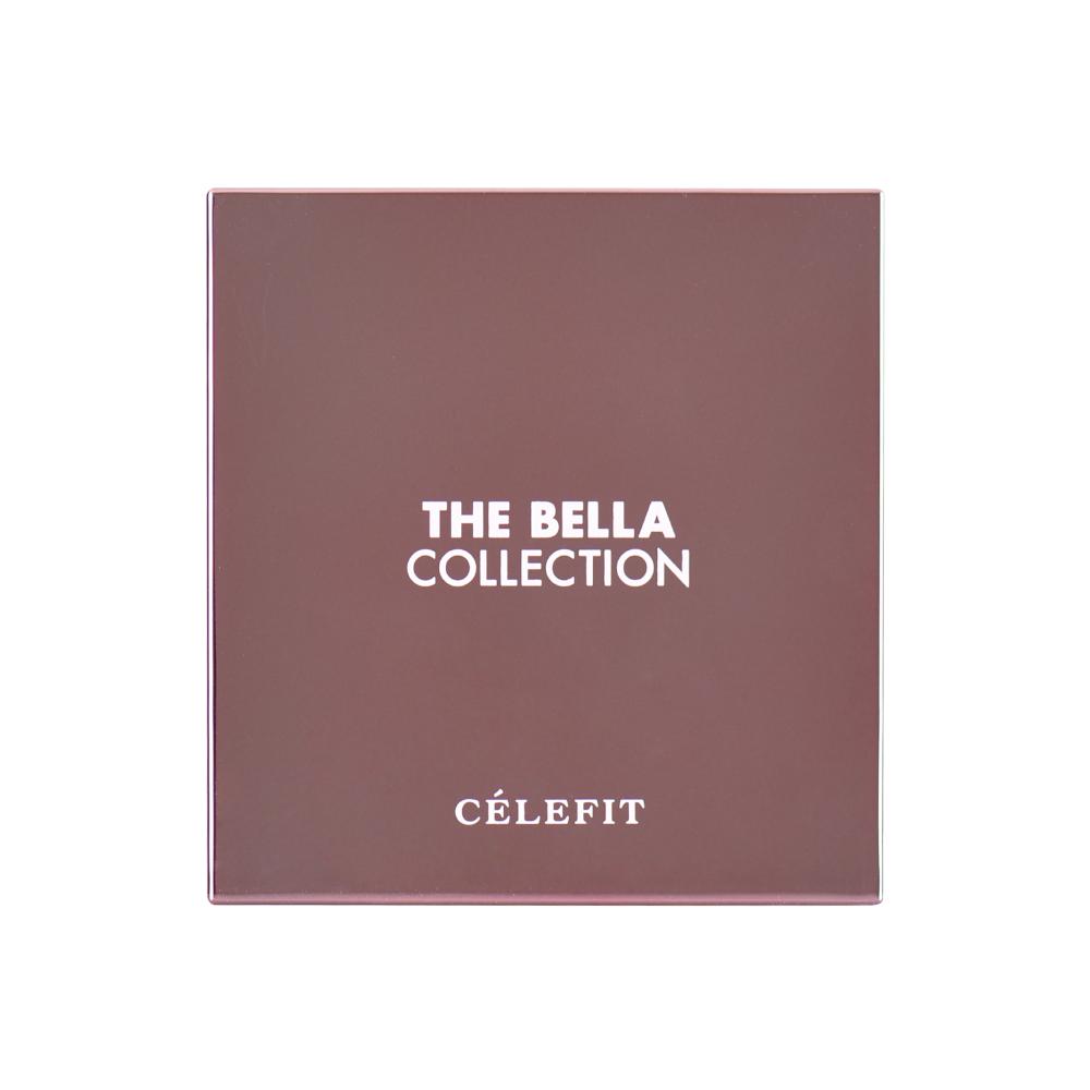 Bảng phấn mắt Celefit Bella trang điểm chuyên nghiệp 17g