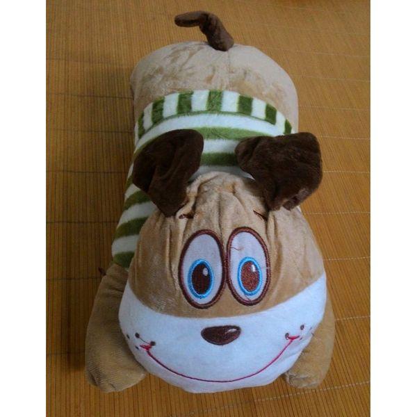 Túi Sưởi Ấm Lưng Họa Tiết Chó  Đa Năng (1 Sản Phẩm)- Dùng Điện  - Màu Nâu - Mẫu TSC0187