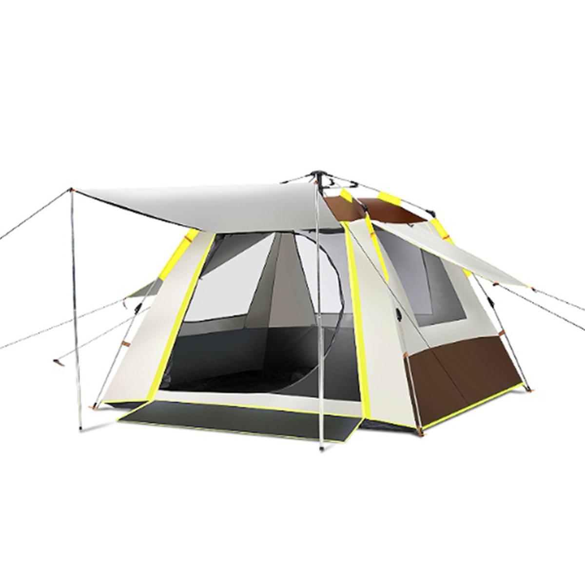 Lều du lịch di động cắm trại dã ngoại khung bằng FRP chống ăn mòn chất liệu vải chống nóng chống thấmTXZ-085 được thiết kế nhỏ gọn khi đi du lịch, picnic