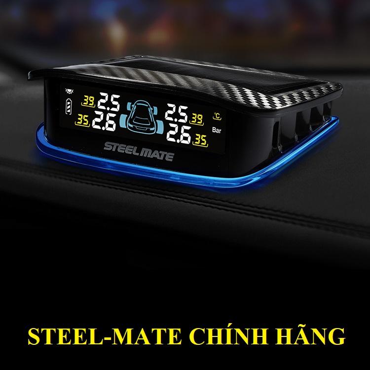 Cảm biến áp suất lốp TPMS steelmate TP X2 - Van Trong