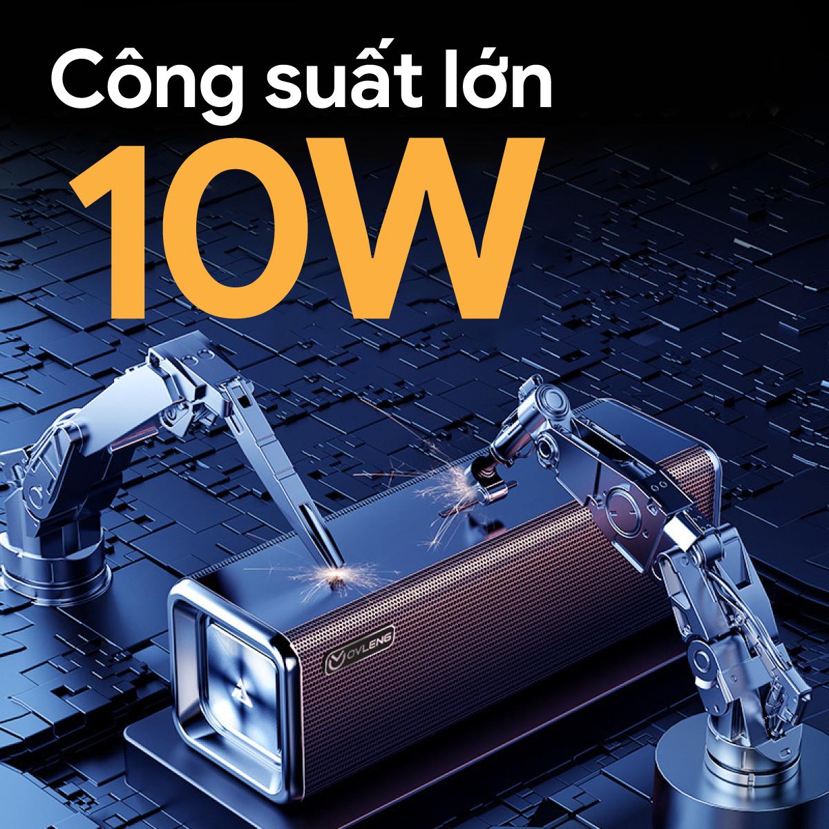 Loa Bluetooth OVLENG V13 - Loa Kép, Sạc Type C, Bluetooth 5.0, Pin 2000mah - Hàng Chính Hãng