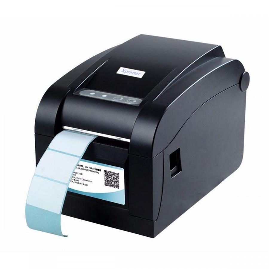 Máy in mã vạch - in tem nhãn XPrinter XP 350B - Hàng Chính Hãng