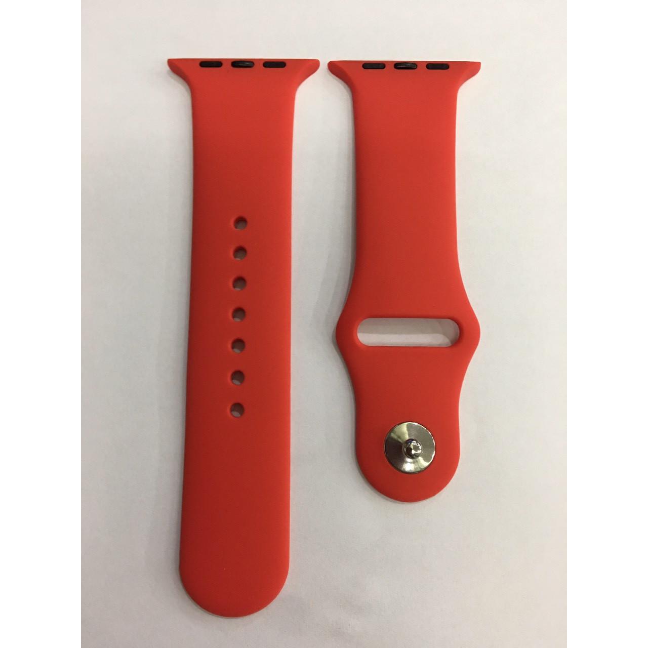 Dây đồng hồ silicon cho apple watch chống bẩn đẹp mắt
