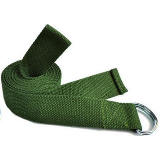 Dây đai tập yoga sợi cotton LK25 Xanh lá
