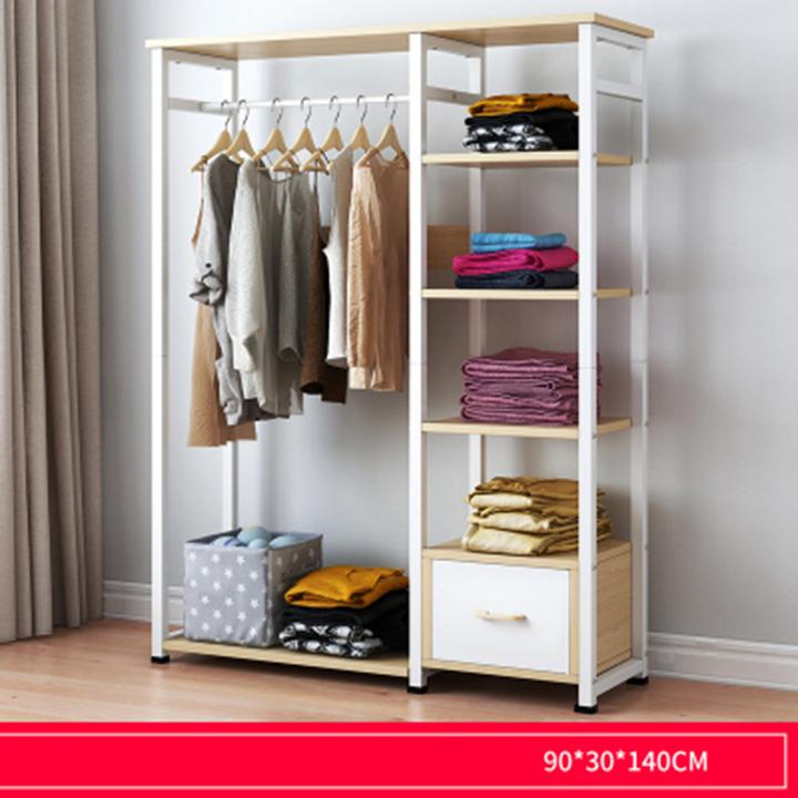 tủ quần áo khung thép cao cấp giao màu ngẫu nhiên D0640