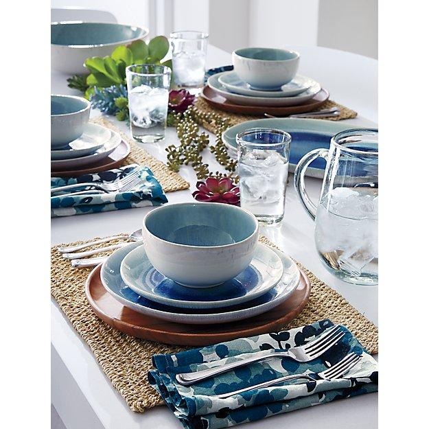 Tấm lót bàn ăn bằng lá cọ - Rope Palm Leaf Placemat