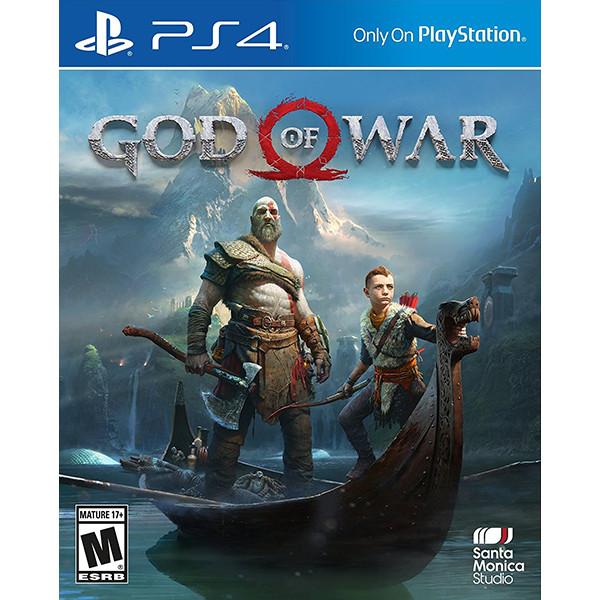 Đĩa game PS4 God Of War - Hàng Nhập Khẩu