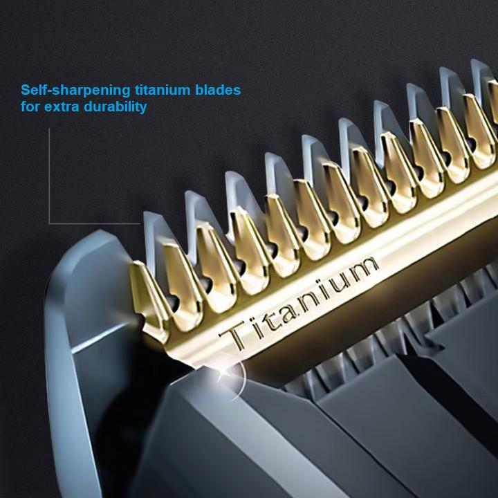 Tông đơ cắt tóc cao cấp nhãn hiệu Philips HC9450/15 công nghệ DualCut tích hợp 2 lưỡi cắt - Hàng Nhập Khẩu