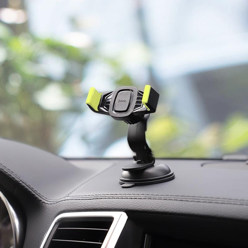 Giá đỡ điện thoại thông minh cho xe hơi, xe máy cao cấp Hoco CA40 – Hàng chính hãng