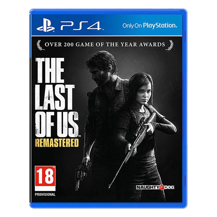 Đĩa Game PlayStation PS4 Sony The Last Of Us Remastered Hệ Asia - Hàng Chính Hãng