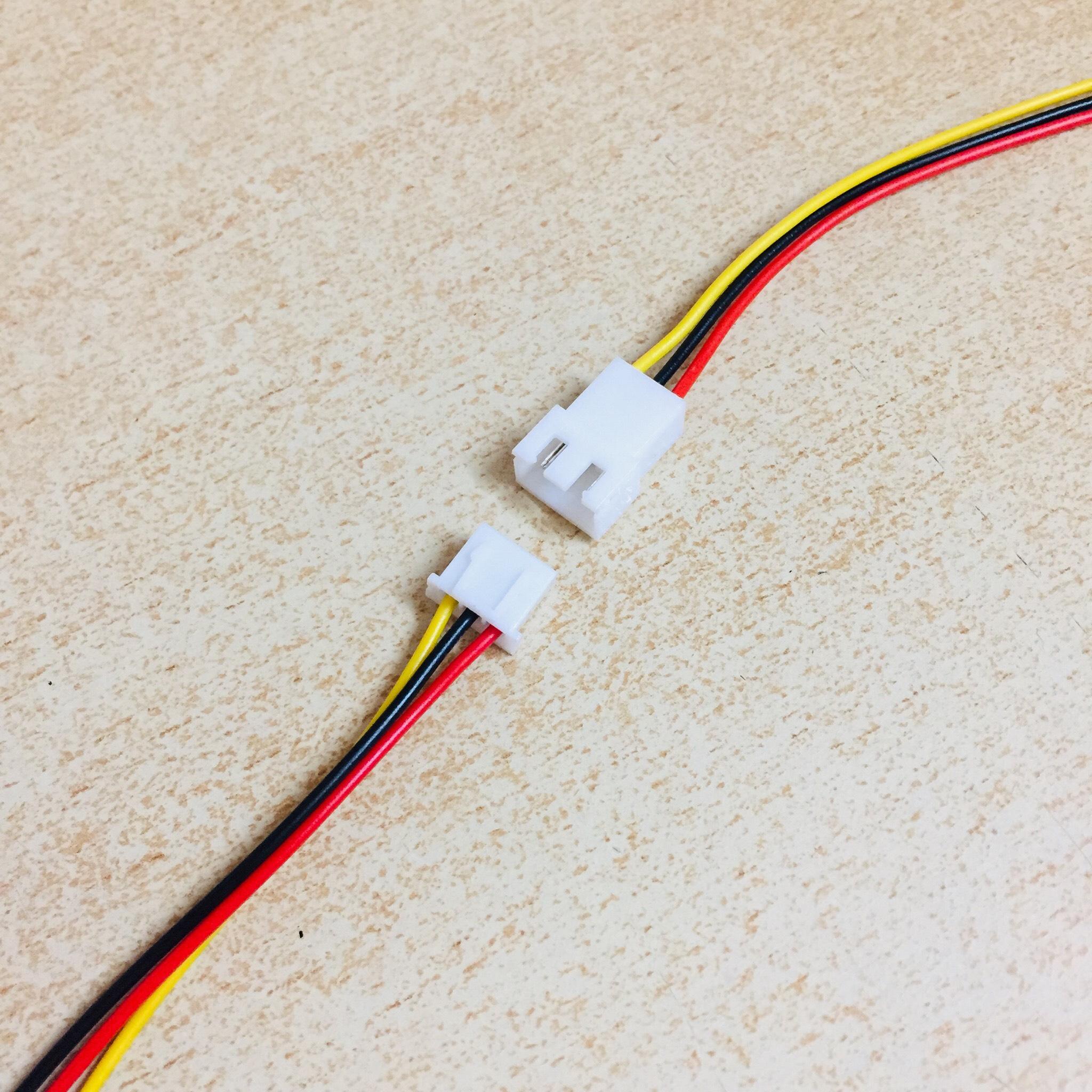 Cặp dây nối đực cái jack 3p dài 10cm đến 20cm dành để chế tạo