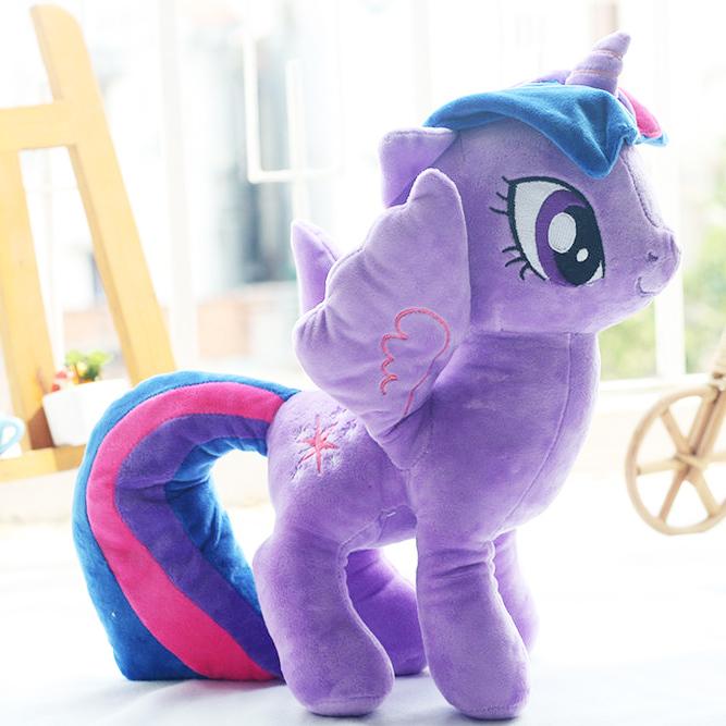 Ngựa Pony màu tím mộng mơ size 40cm
