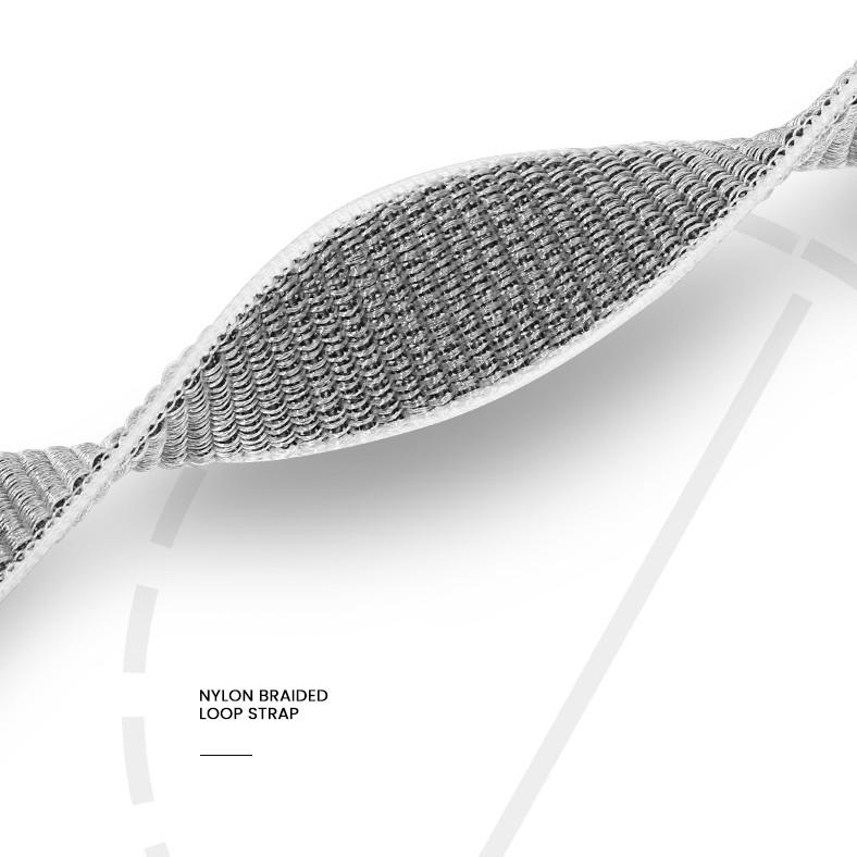 Dây vải đeo thay thế kèm khung viền bảo vệcao cấpcho Apple Watch 40mmhiệu Usams US-ZB073 (thiết kế tinh tế, lực hút nam châm mạnh mẽ, lịch lãm sang trọng) - Hàng nhập khẩu