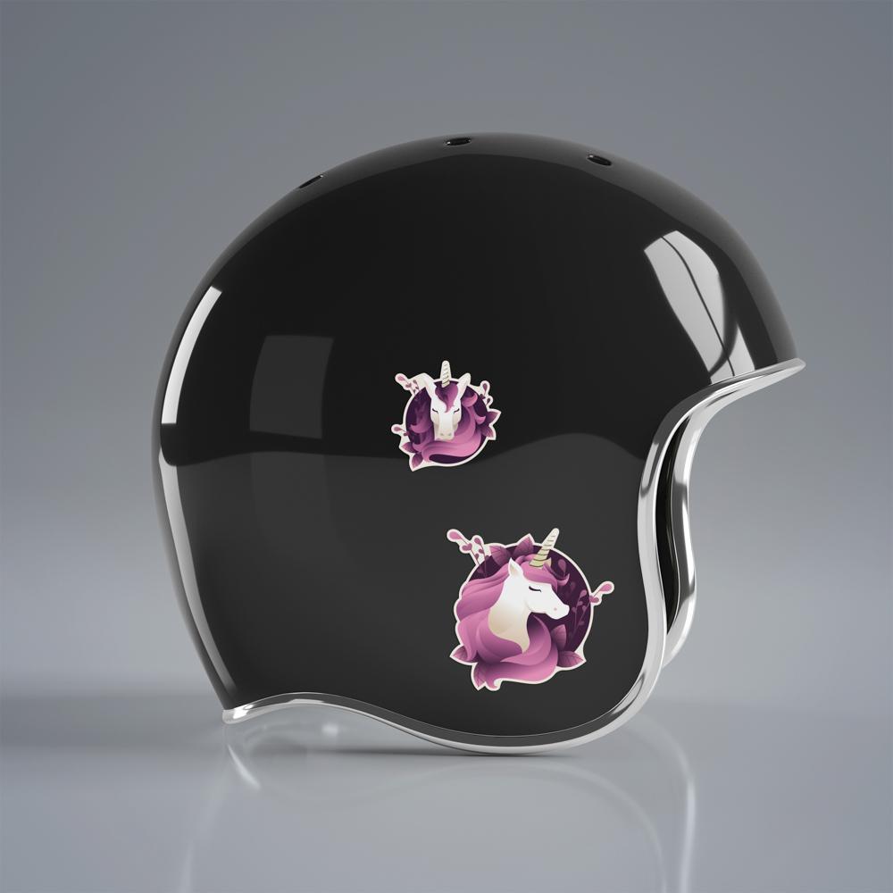 Unicorn Deluxe - Single Sticker hình dán lẻ