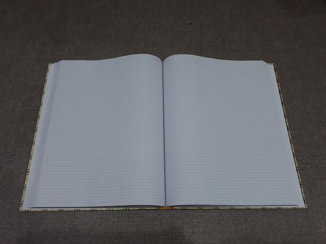 Sổ Caro 480 Trang Khổ 24x32cm