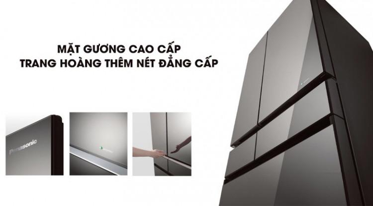 Cấp đông mềm - Tủ lạnh Panasonic Inverter 491 lít NR-F503GT-X2