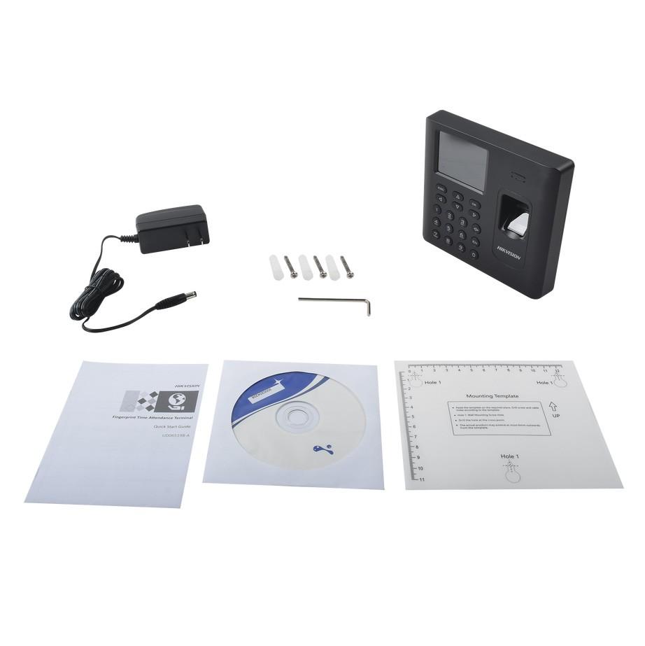 Máy Chấm Công Vân Tay Hikvision DS-K1A802EF-B - Hàng chính hãng