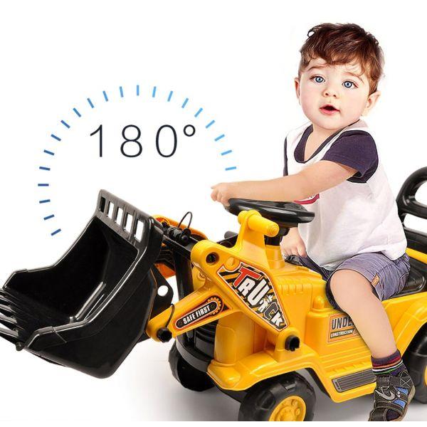 Đồ chơi Xe công trình chòi chân - Xe ủi PEEK A BOO YD1004