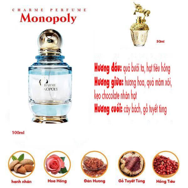 Nước hoa nữ Charme Monopoly 100ml