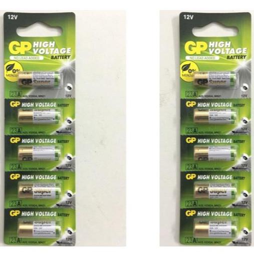 2 Vỉ 10 viên Pin GP 12V 23A