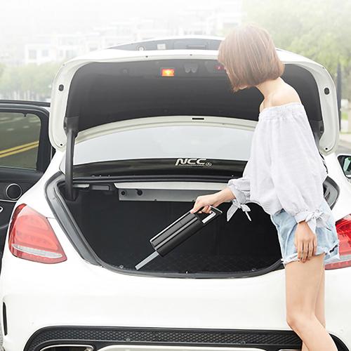 Máy hút bụi ô tô cầm tay không dây AIKESI AKS-8001C cao cấp, máy hút bụi cầm tay không dây lực hút siêu mạnh 3500Pa, máy hút bụi mini không dây cao cấp 2 màu đen trắng