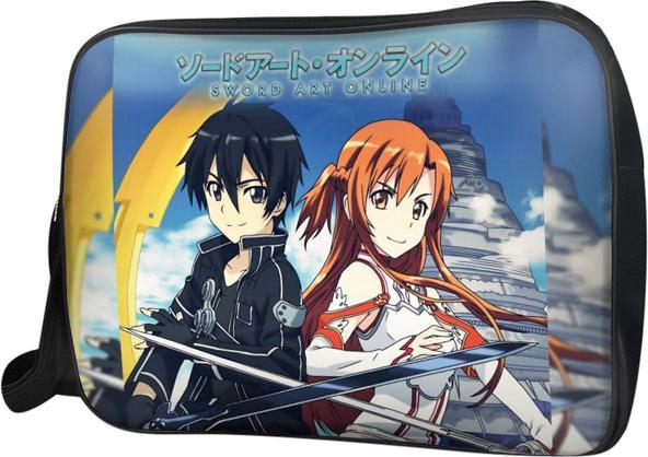 Túi Đeo Chéo Hộp Unisex Kirito Và Asuna - TCMA200 34 x 9 x 25 cm